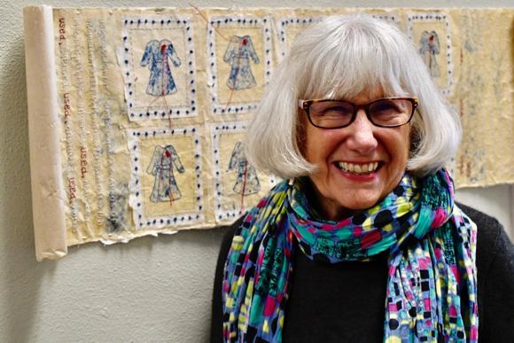 Post image for Artist Rose Camastro-Pritchett brings Comfort Women Project to Menlo College