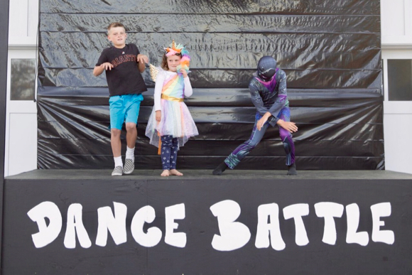 "Post image for Spotted: Preparation for Halloween ""Fortnite Dance Battle"" in Ladera"