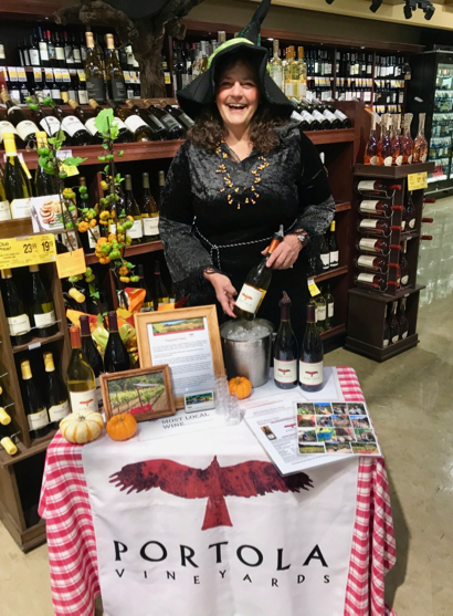 Post image for Spotted: Witch selling potions of a fine wine kind