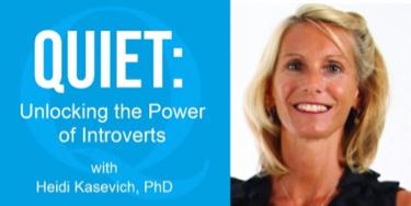 Heidi Kasevich, PhD, Founder, Quiet Schools Network is next M-A Parent Ed speaker