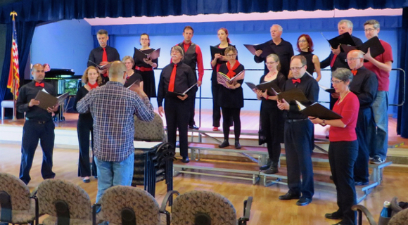 Post image for College Vocal Ensemble performs at St. Bede's on Nov. 18