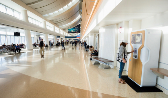 Post image for Spotted: Menlo Park start up Drop Water kiosk at San Jose Airport