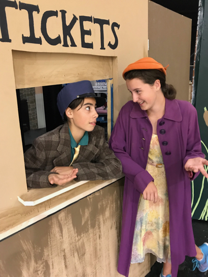 The show goes on! Ghost Train presented by Hillview Drama Friday & Saturday