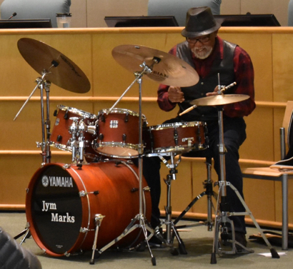 Post image for Jym Marks Trio at Belle Haven branch library on Nov. 10
