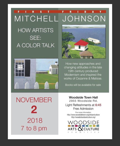 Post image for Artist Mitchell Johnson is First Friday speaker on Nov. 2