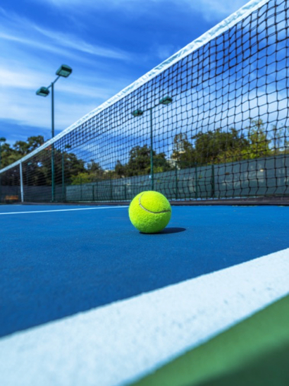 Post image for Nealon Park sports blue and green tennis courts
