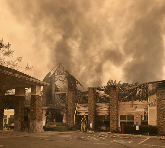 Post image for Menlo Park Deputy Fire Chief checks in from Paradise, reporting widespread devastation