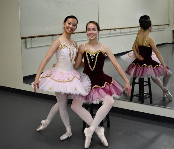 Post image for Two M-A students share Sugar Plum Fairy role in Pacific Ballet Nutcracker performance