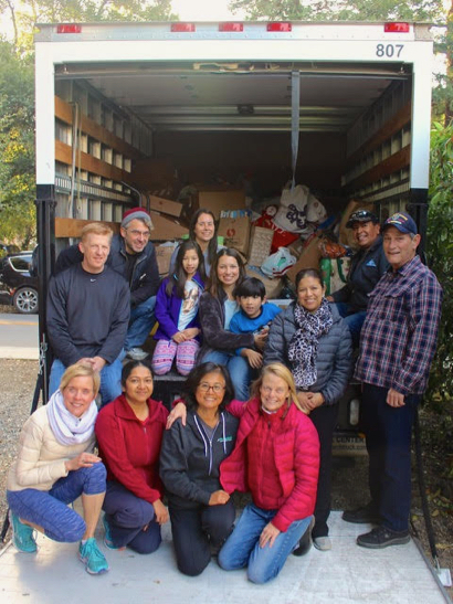 Willows neighborhood stages annual toy drive for the Ravenswood City School District