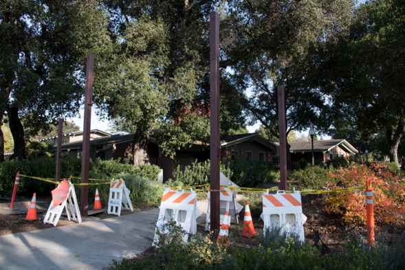 Menlo Gates starting to take shape near Menlo Park Library, but additional funds are needed