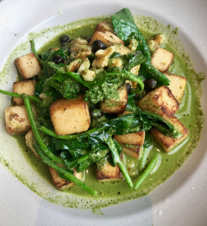 Spotted: Chickpea Panisse at Camper in Menlo Park