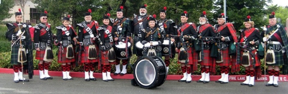 """Post image for """"A Scottish Christmas"""" performed by Silicon Valley Pipe Band on Dec. 8"""