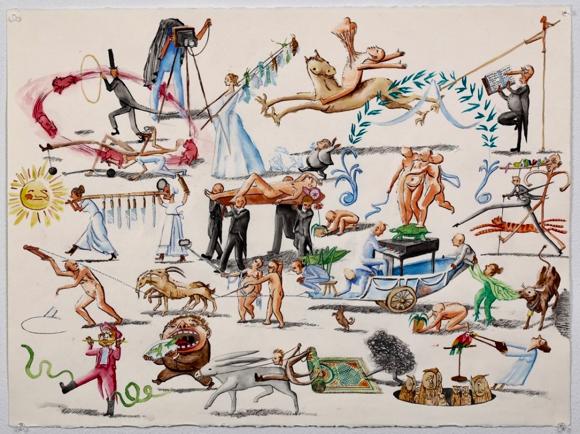 """Cartoon artist Daniel Heimbinder defines """"Life as a Trophy"""""""
