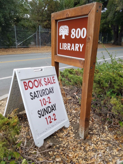 Friends of the Menlo Park Library book sale on March 2 & 3