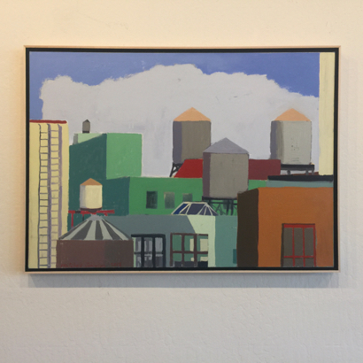 Artist Mitchell Johnson extends downtown exhibit of his paintings