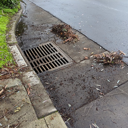 Residents urged to prepare for next storm by keeping storm drains leaf free