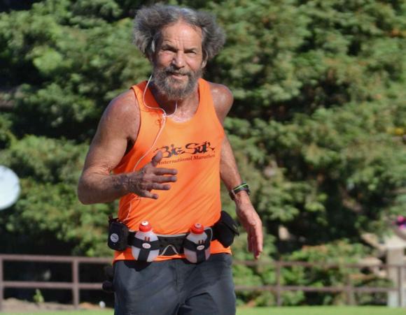 M-A math teacher Gregg Whitnah keeps on running