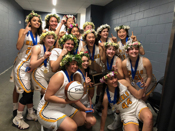 Menlo School girls win D-II state basketball championship