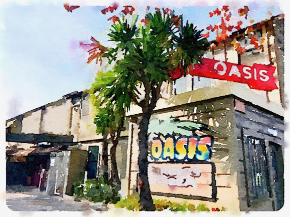 Alas, the Oasis has been gone a year