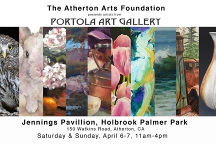 Atherton Arts Foundation hosts Portola Art Gallery artists first weekend in April