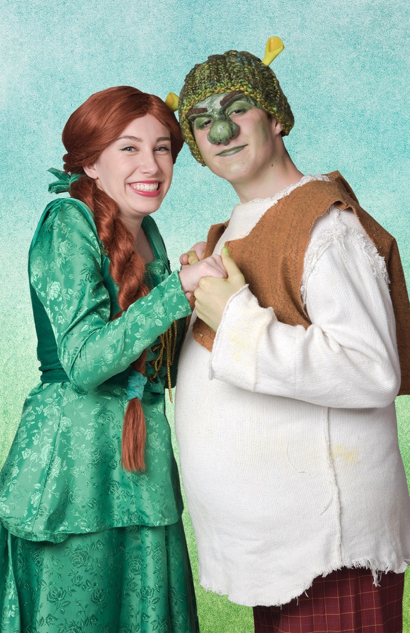 Two local teens have leads in Shrek the Musical in Peninsula Youth Theatre production