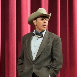Audie Murphy as performed by Duffy Hudson comes to Menlo Park on April 6