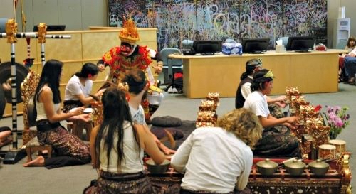 Free Balinese music concert at Menlo Park Library on May 4