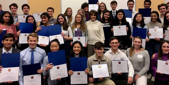 Spotted: Student Advisory Board with Congresswoman Anna Eshoo