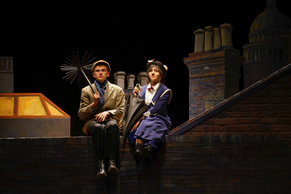 "Hillview Drama presents ""Mary Poppins"" this Thursday through Saturday"