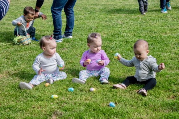 Menlo Park kids are on the hunt for Easter eggs at Burgess Park