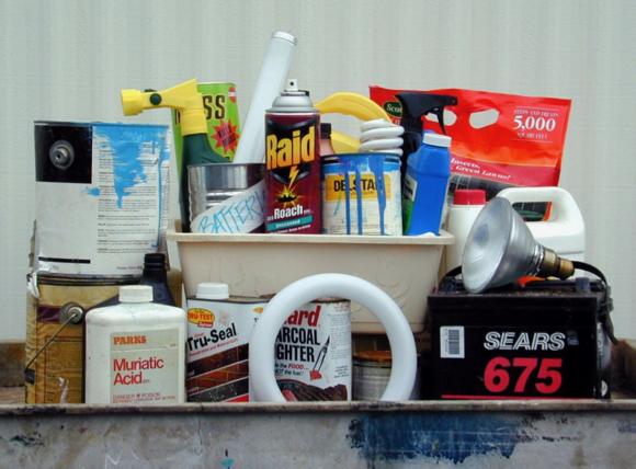 Household Hazardous Waste Collection event on April 13