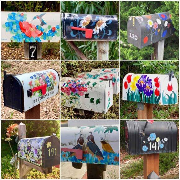 Mailboxes in Ladera are sure signs of Spring!