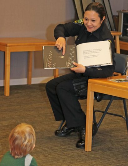 Meet and read with a cop on April 13