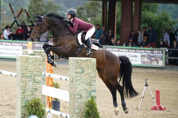 Spotted: Grand Prix winner at Woodside Horse Park
