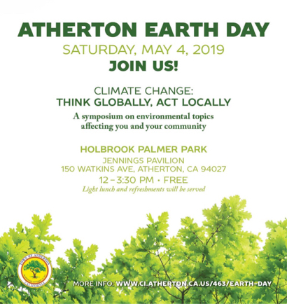Town of Atherton celebrates Earth Day on May 4