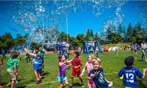 Children's Champions event at Menlo College benefits at-risk children in the Bay Area