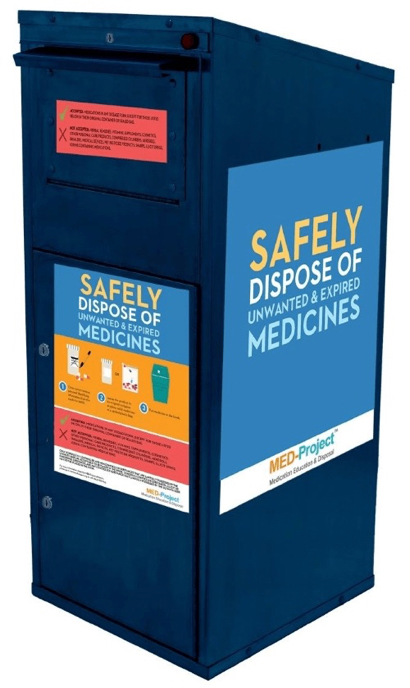 Menlo Park residents can drop off unwanted or expired medications for safe disposal