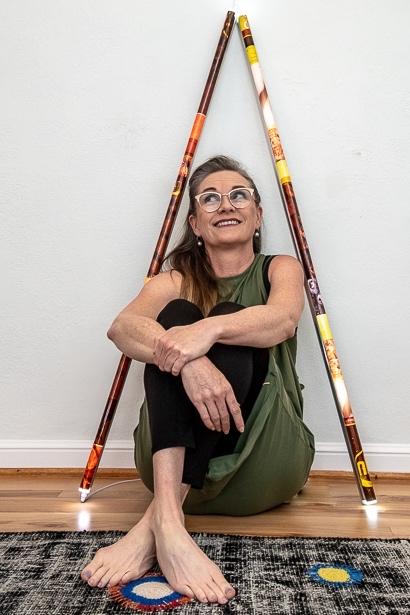 "Artist Tara de la Garza creates ""Monuments to the Plastocene"""
