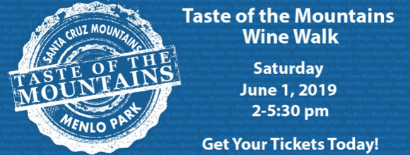 Taste of the Mountains Wine Walk set for June 1 in downtown Menlo Park