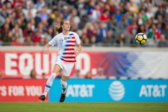 Locals take the field at Levi's Stadium as part of the US Women's National Soccer Team