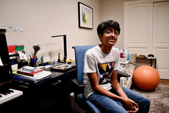 Vikram Seshadri works with local government as member of the San Mateo County Youth Commission