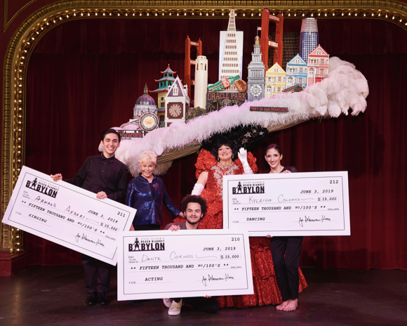 Sacred Heart Prep recent grad Armand Akbari wins Beach Blanket Babylon student competition