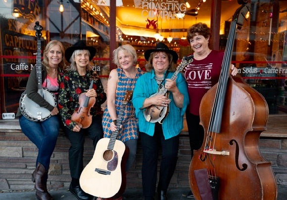Enjoy bluegrass music performed by The Goat Hill Girls on June 29