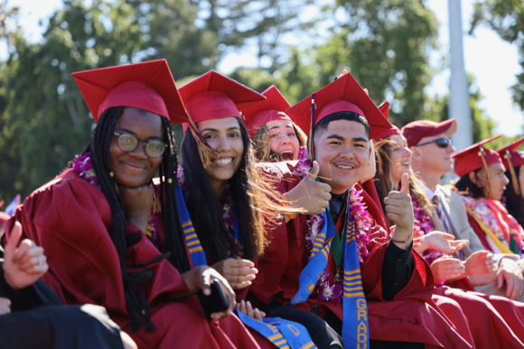 Pomp & Circumstance time for seniors at Menlo-Atherton High School