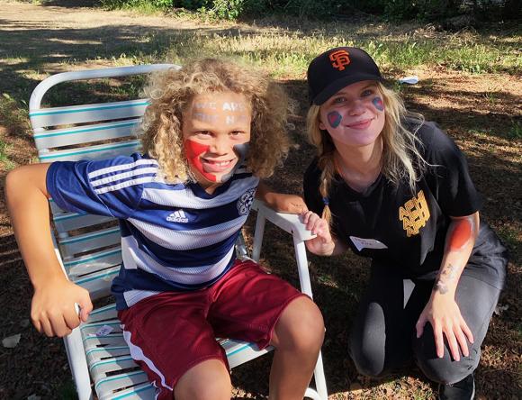 Good fun at the Menlo Oaks [almost] summer picnic