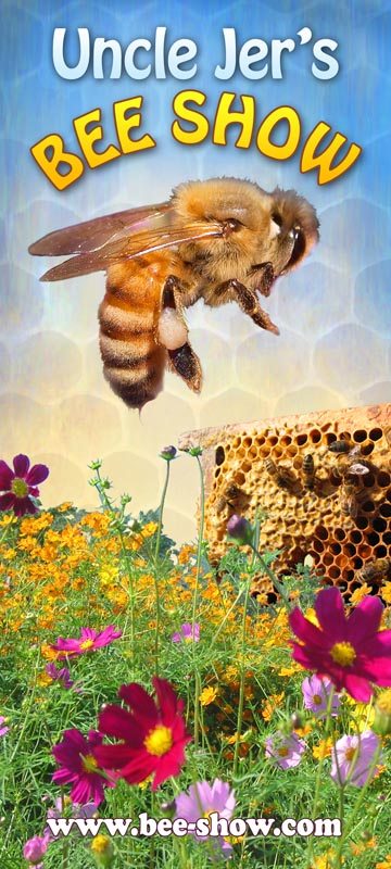Uncle Jer's Bees at Atherton Library on July 27