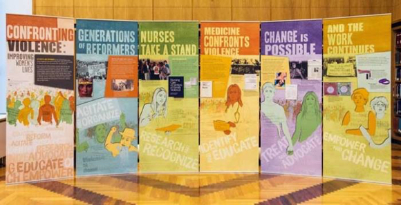 """""""Confronting Violence: Improving Women's Lives"""" is month long focus at Menlo Park Library"""