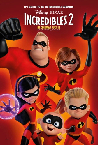 Watch Incredibles 2 at Holbrook-Palmer Park on July 26