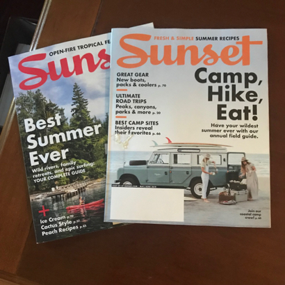 How 100 year plus of Sunset magazines and books was saved from the dumpster