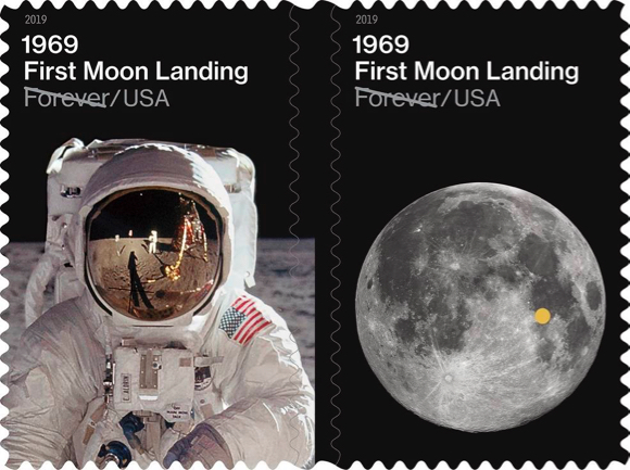 Moon landing scavenger hunt sponsored by Portola Valley Library